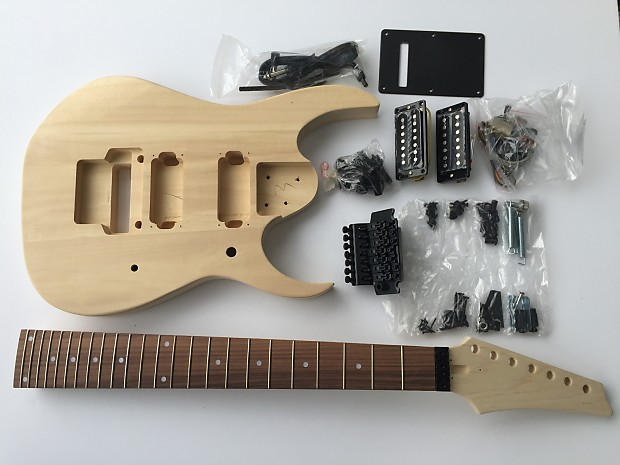 the fretwire diy electric guitar kit 7 string build your reverb. Black Bedroom Furniture Sets. Home Design Ideas