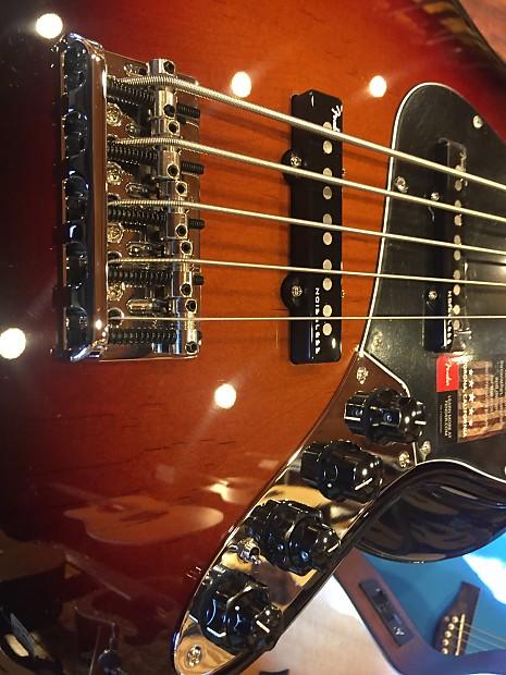 fender american elite jazz bass v 5 string 3 color reverb. Black Bedroom Furniture Sets. Home Design Ideas