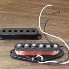 "Fender Single Classic 50's Pickup 6.52 K Ohms 7"" wire"