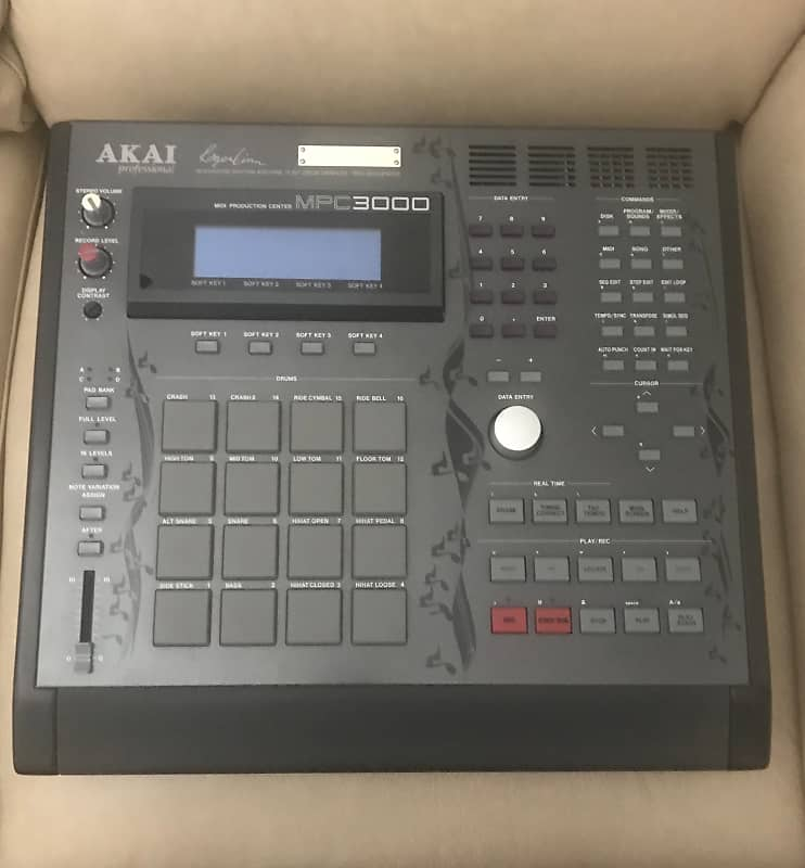 Akai Mpc 3000 Limited Edition 1994 Black Reverb