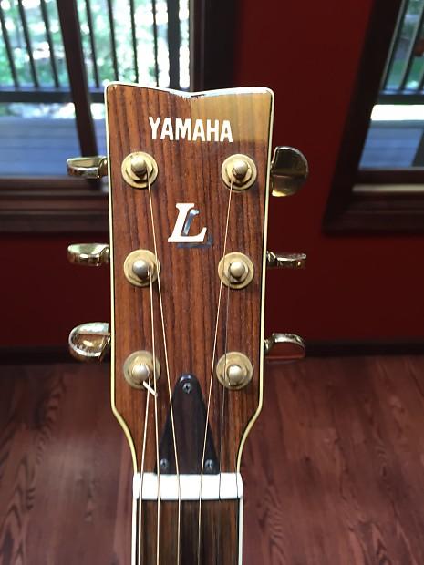 Yamaha Ll 5c Acoustic Guitar
