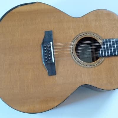 1994 Laskin Jumbo  12 String Brazilian Early Back Bevel-VG for sale