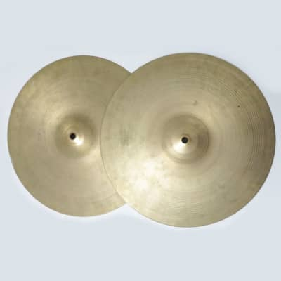 "A. Zildjian 14"" '60s Stamp Hi-Hat Cymbals (Pair)"