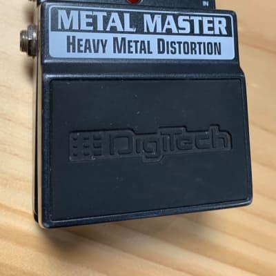 Digitech Metal Master Distortion Pedal for sale