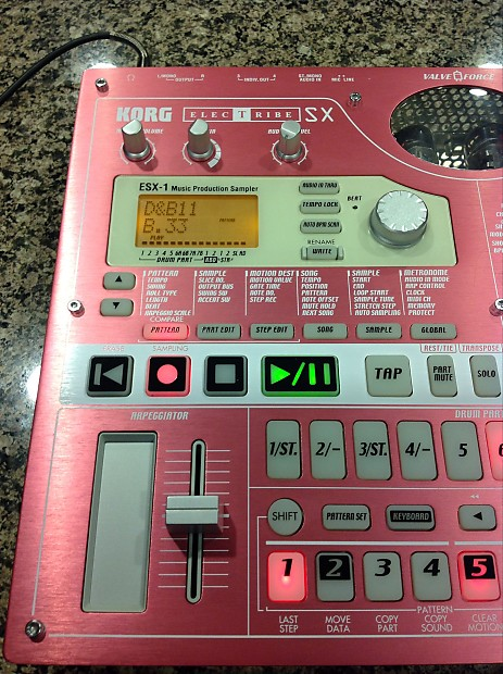 KORG Electribe ESX-1SD-Excellent With Extra Samples and Tubes!
