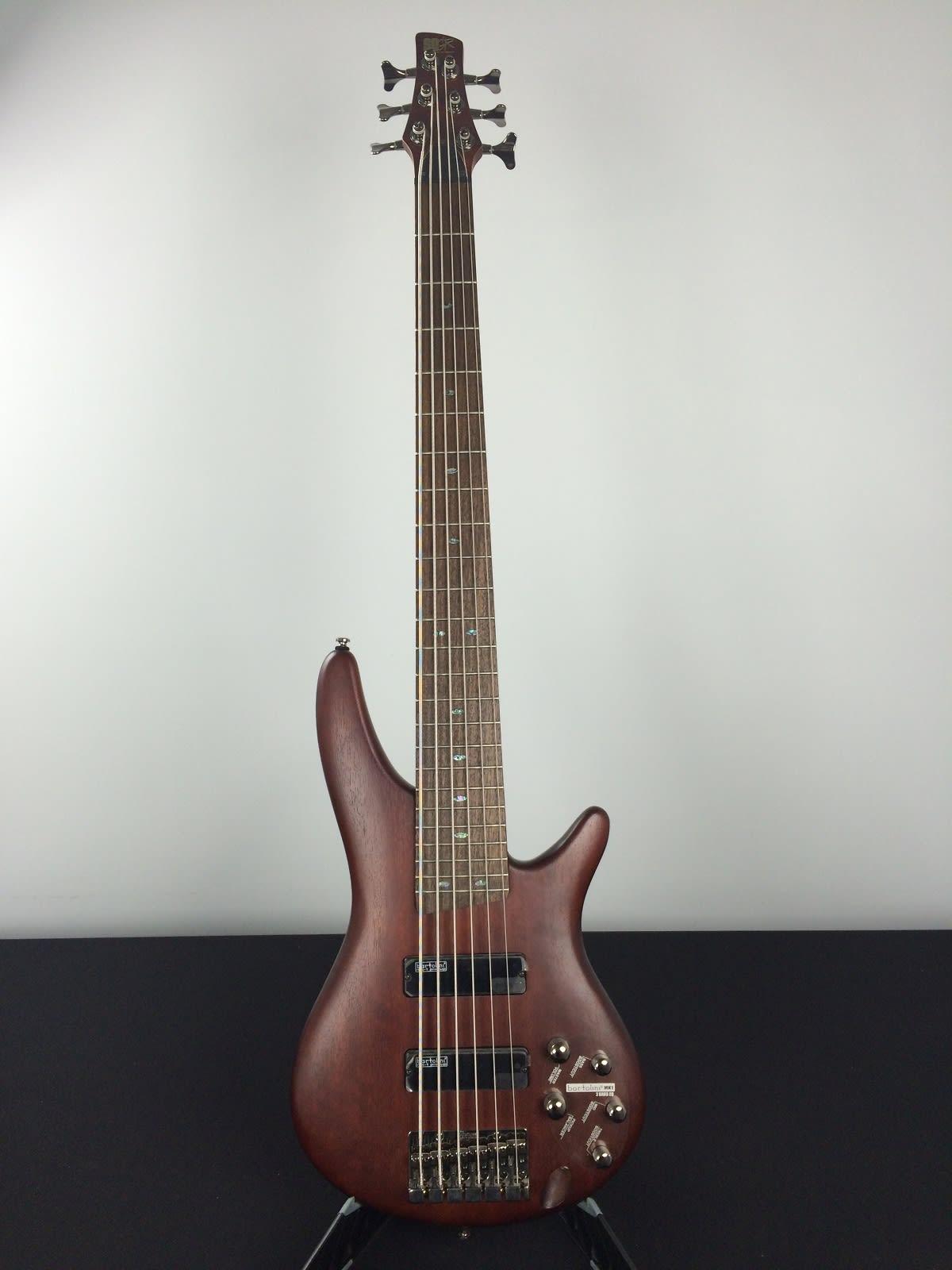 ibanez sr506 sound gear 6 string bass guitar brown mahogany reverb. Black Bedroom Furniture Sets. Home Design Ideas