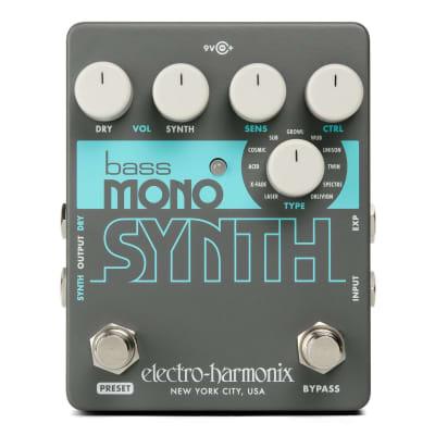 Electro-Harmonix EHX Bass Mono Synth Synthesizer Guitar Pedal!