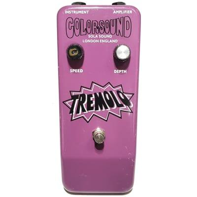 Colorsound Tremolo Guitar Pedal Original Vintage 1990s Sola Sound Macaris for sale