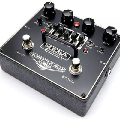 Mesa/Boogie Throttle Box EQ & Overdrive Pedal for sale