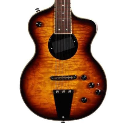 Rick Turner Model 1 Custom Featherweight Quilted Maple Burst for sale