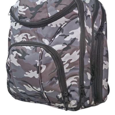 Rockville Travel Case Camo Backpack Bag For Vestax Typhoon DJ Controller