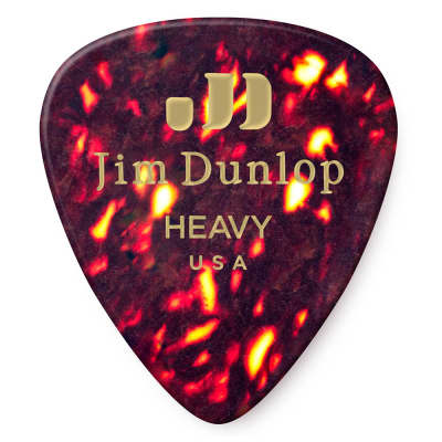 Dunlop 483P05 Heavy Celluloid Pick (12-Pack)