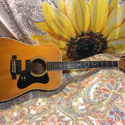 Madeira A30M Acoustic Electric Guitar Gold Foil Pickup Upgrade Guild for sale