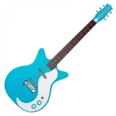 Danelectro DC59M NOS Modified, Baby Come Back Blue for sale