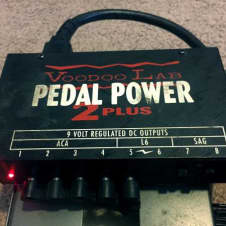 Voodoo Lab Pedal Power 2 Plus Black