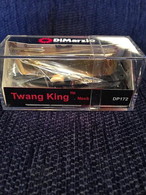 Dimarzio Twang King : dimarzio twang king neck pickup dp172g gold new unopened reverb ~ Vivirlamusica.com Haus und Dekorationen