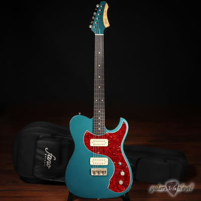 Fano TC6 Oltre TV Jones Classic/Classic+ Guitar w/ Gigbag – Ocean Turquoise for sale