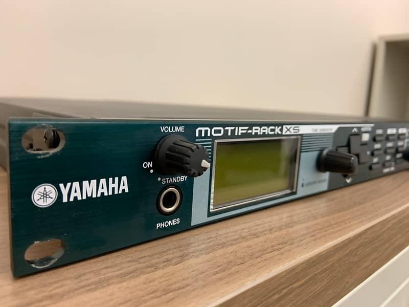 yamaha motif rack xs tone generator basssta 39 s boutique reverb. Black Bedroom Furniture Sets. Home Design Ideas