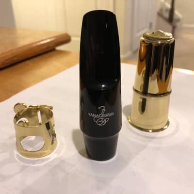 Yanagisawa AC140 Classical Ebonite Alto Sax Mouthpiece