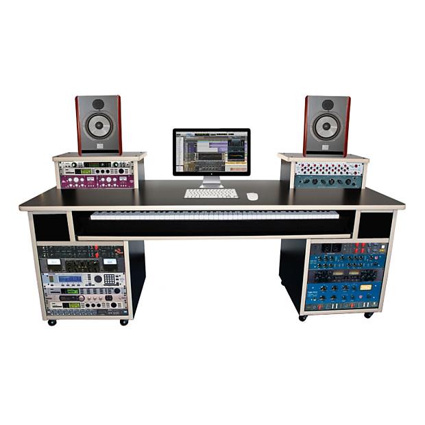 Charmant AZ Studio Workstations AZ  Pro 88 Workstation Desk Black