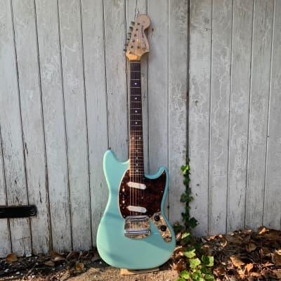 Fender Mustang '69 CIJ  Sea Foam Green late '90s for sale