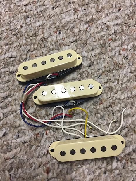 1997 Fender American Standard Stratocaster Pickups Reverb