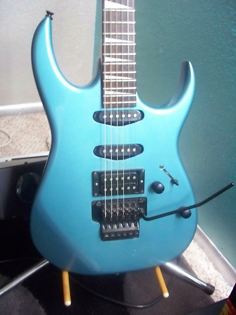 Auto Shop Near Me >> Ibanez EX360 MB Marine Blue (Metallic Blue, Teal, Turquoise) | Reverb