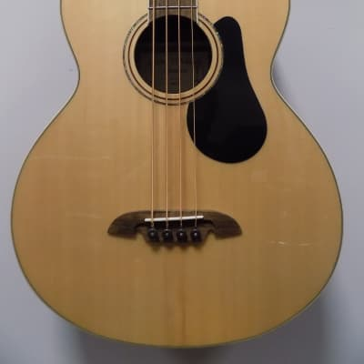 Alvarez Artist Series AB60CE Acoustic-Electric Bass Guitar - Natural Gloss for sale