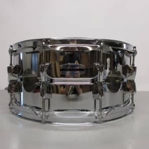 """Yamaha SD-256A Stage Custom 6.5x14"""" Steel Snare Drum"""