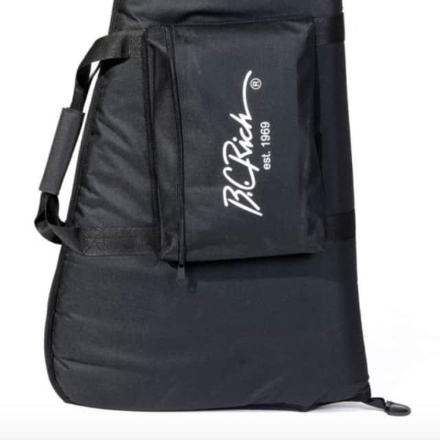 B.C. Rich BCRGbag1 gig bag for Mockingbird and Villain style electric guitars image