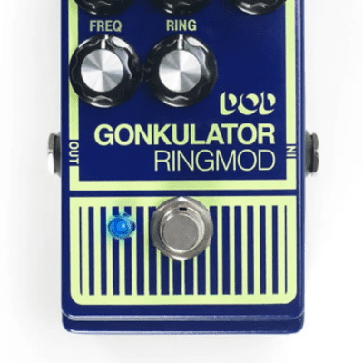DOD Gonkulator Ring Modulator Mod distortion pedal for sale