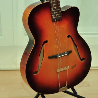 Klira Triumphator de luxe 50s German Vintage Archtop Jazz guitar Gitarre for sale