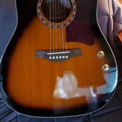 Jay Turser JTA560EQ Dreadnought Acoustic Electric Guitar for sale