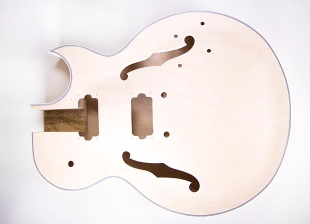 diy electric guitar kit 175 style build your own guitar kit reverb. Black Bedroom Furniture Sets. Home Design Ideas