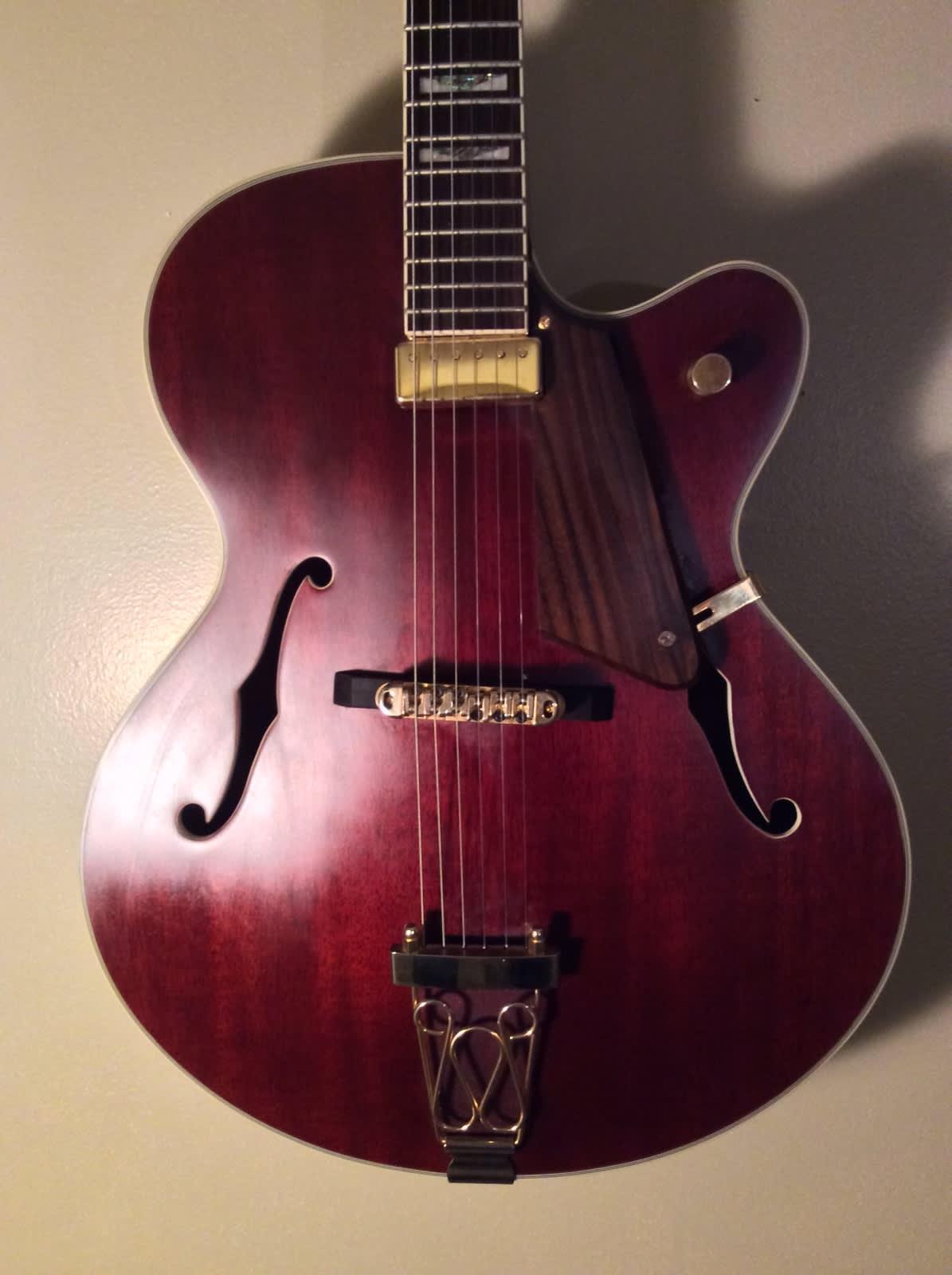 jay turser jt 134 jazz big body acoustic electric guitar w reverb. Black Bedroom Furniture Sets. Home Design Ideas