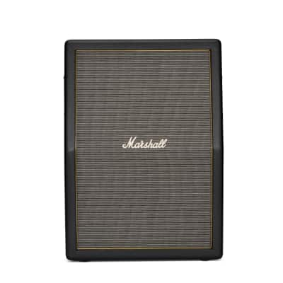 "Marshall	Origin ORI212A 2x12"" Angled Guitar Speaker Cabinet"