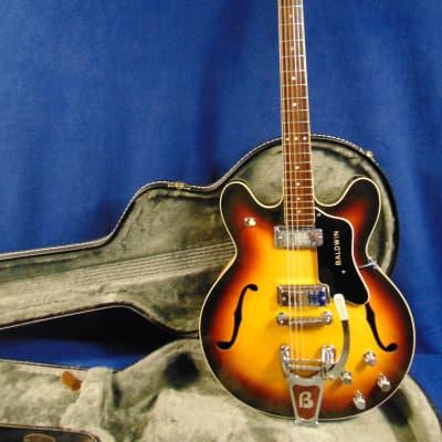 Baldwin 706V 1960's Sunburst w/tremolo for sale