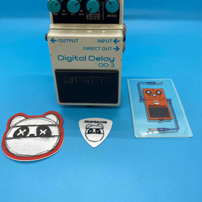 Boss DD-3 Digital Delay | Rare  1989 (Blue Label) Made in Japan | Fast Shipping!
