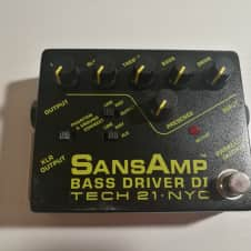 Tech 21 SansAmp Bass Driver DI N/A Black