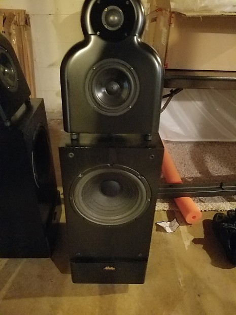 Alon And Bag End Ll Speakers Infrasub 18 Black