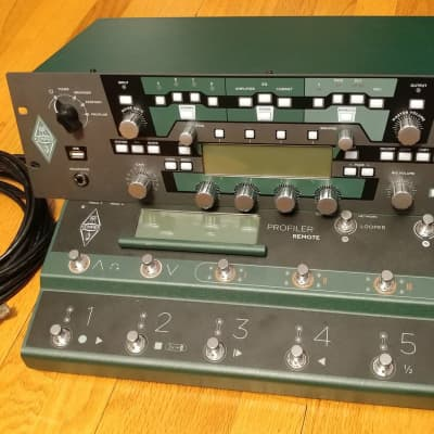 Kemper Amps Profiler Rack Guitar Modeling Amp w/ Remote Controller Pedal