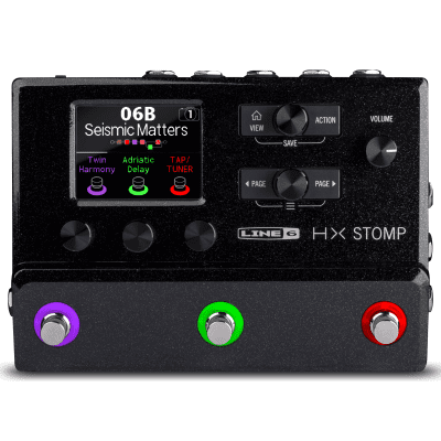 Line 6 HX Stomp Multi-Effect and Amp Modeler