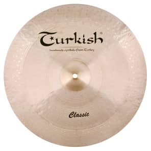 """Turkish Cymbals 20"""" Classic Series Reverse Bell China C-RCH20"""