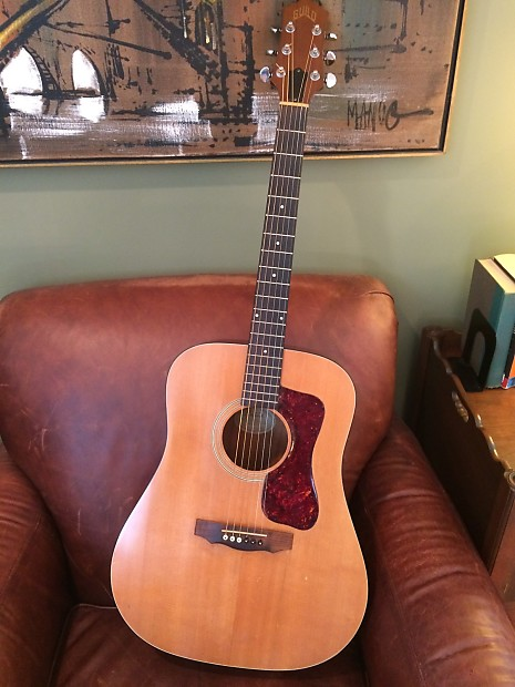 Guild D4 Acoustic Guitar - Made in Westerly, RI | The | Reverb