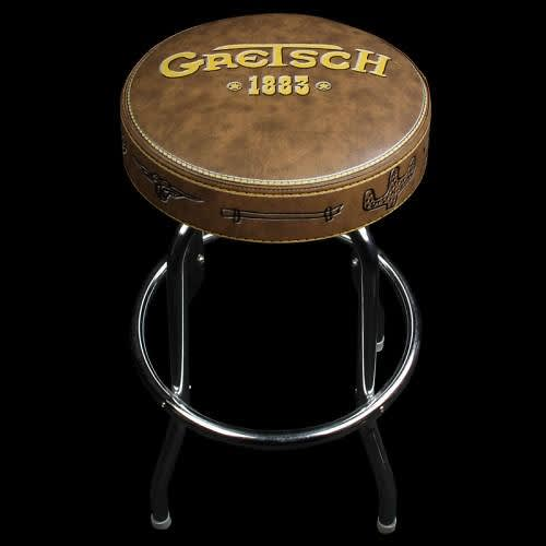 Gretsch 30 Quot Inch 1883 Logo Barstool Seat Stool Chair Reverb