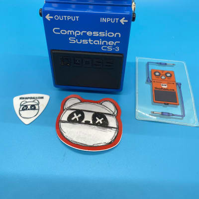 Boss CS-3 Compression Sustainer | Rare (Black Label) ACA Version | Fast Shipping!