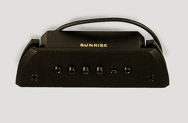 Sunrise  S-2 with installation kit Acoustic Guitar Magnetic Pickup.