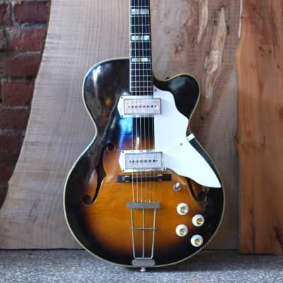 Kay Swingmaster K672 1960s sunburst for sale