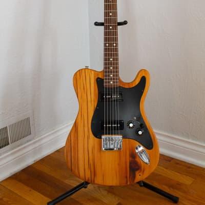 Barncaster Reclaimed Barn Wood Guitar Lollar P90's natural for sale