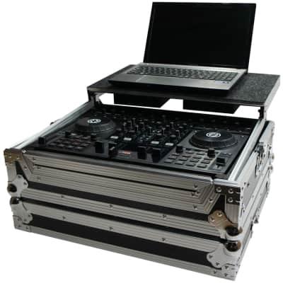 Harmony HCTKS4LT Flight Glide Laptop Stand Road Travel DJ Custom Case Gemini G4V